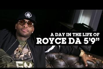 "Royce Da 5'9"": Day In The Life"