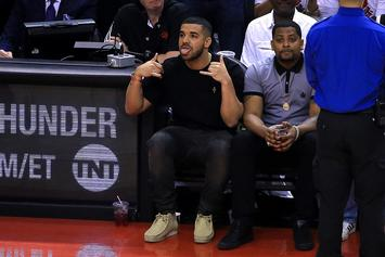 Drake Loves ESPN's Doris Burke And He Doesn't Care Who Knows It