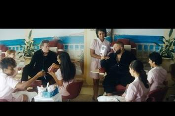 DJ Khaled Hits The Nail Salon With Ray Liotta In New Apple Music Commercial