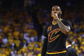"LeBron James' Playoff Performance Has Been Fuelled By ""The GodFather"""