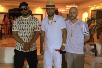 "French Montana & Drake Shoot ""No Shopping"" Video In Dominican Republic"