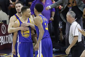 Stephen Curry Gets Ejected In Game 6, Wife Says The Game Was Rigged For Money