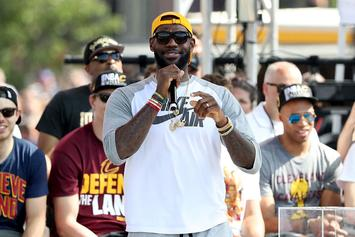 Check Out LeBron James' Championship Speech In Its Entirety