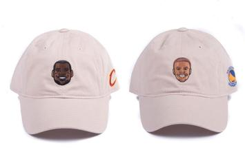 """Adidas Is Releasing A Collection Of NBA Caricature """"Dad Hats"""""""