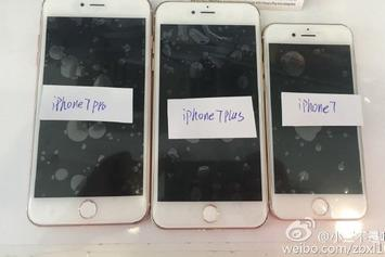 Three Different iPhone 7 Models Have Leaked, Including The iPhone 7 Pro