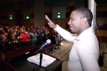 "Lil B Delivers ""Very Rare"" Lecture At University Of Nevada-Reno"
