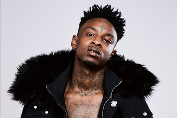 """21 Savage Stars In Virgil Abloh's Off-White """"Don't Cut Me Off"""" Lookbook"""