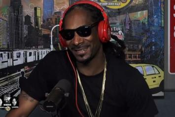 Snoop Dogg Talks New Album, Son Leaving Football, Trump, & More On Hot 97