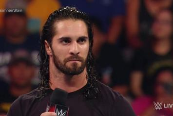 Crazed Fan Jumps In The Ring To Confront WWE's Seth Rollins During Promo