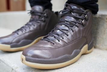 "Check Out Anthony Hamilton's Latest ""Chocolate"" Air Jordan 12"