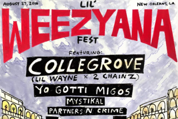 Live Stream Lil Weezyana Fest 2, With Lil Wayne, 2 Chainz, Migos & More