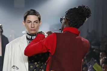 Young Thug Stops Model On Runway To Fix His Outfit