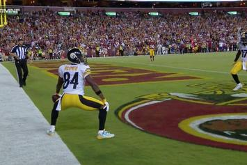 Antonio Brown Has The Best TD Celebration Of The NFL Year So Far