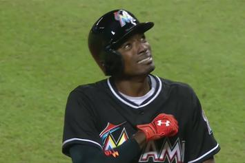 Dee Gordon Homers In First At Bat Since Jose Fernandez's Death