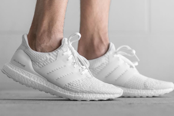"Introducing The ""Triple White"" Adidas Ultra Boost 3.0"