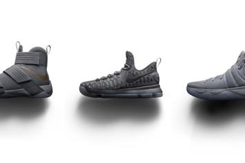"""Nike Basketball Releasing """"Battle Grey"""" Collection This Weekend"""