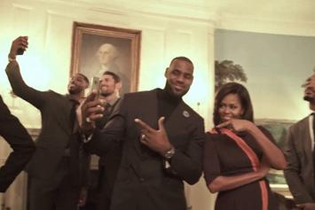 Cleveland Cavaliers White House Mannequin Challenge