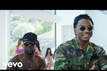 "Kevin Hart Feat. Trey Songz ""Push It On Me"" Video"