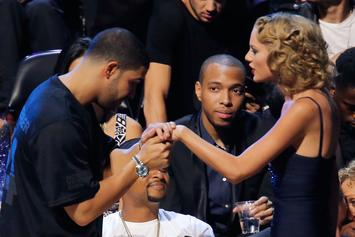 Drake Is Reportedly Helping Taylor Swift Record Hip-Hop Tracks For Her Next Album