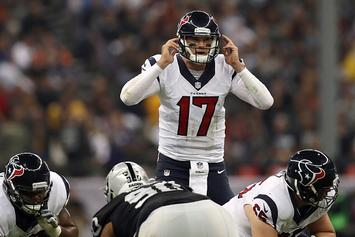 """Brock Osweiler Says Laser Pointers """"Certainly Affected"""" His Play Last Night"""