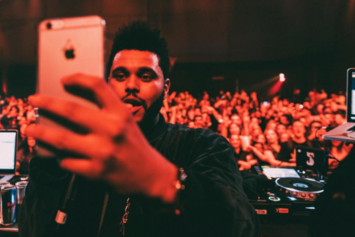 "The Weeknd FaceTimes Future During Epic Moment At ""Starboy"" Premiere Event"