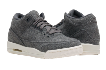 """Wool"" Air Jordan 3s Will Retail For $200"