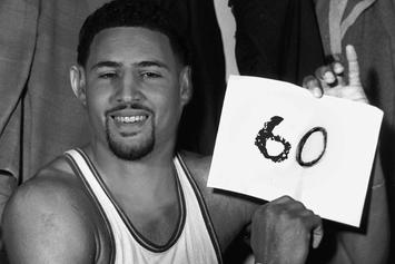 Social Media Reacts To Klay Thompson's Epic 60-Point Performance