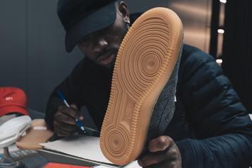 Bryson Tiller Designed His Own Nike Air Force 1 In Honor Of Louisville
