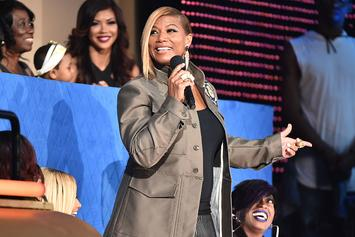Queen Latifah's Mercedes Stolen At A Gas Station