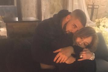 Twitter Reacts To Drake & Jennifer Lopez' Cuddly Instagram Photo