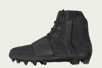 "Adidas Unveils ""Triple Black"" Yeezy Boost 750 Cleats"