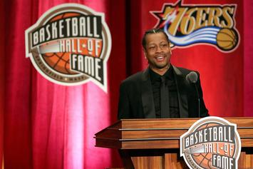 Allen Iverson Will Join Ice Cube's 3-On-3 League BIG3: Report