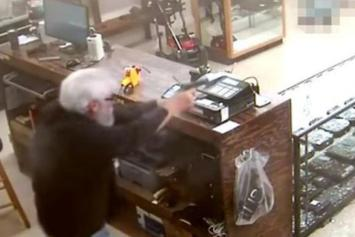 Footage Shows Gun Store Owner Killing Armed Robber In Georgia