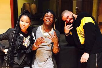 Nicki Minaj Gets Together With Drake & Lil Wayne
