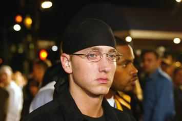 Eminem Apparently Dropped Stat Quo Following Fight Over Debut Album