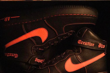 A$AP Rocky Debuts VLONE x Nike Air Force 1 High