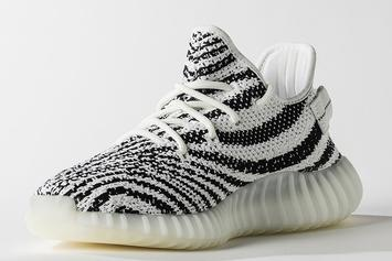 """Zebra"" Adidas Yeezy Boost 350 V2 Will Be More Limited Than Past Release"