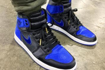 """Satin Royal"" Air Jordan 1 Unveiled At Agenda Show In Las Vegas"