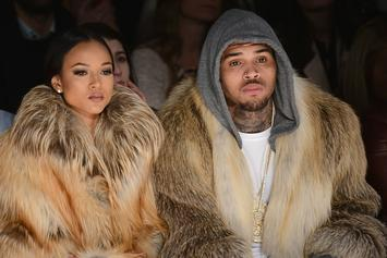 Chris Brown Dodges Questions About Karrueche Tran's Restraining Order