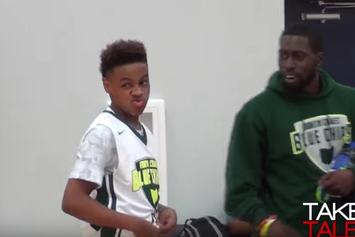 Watch LeBron James Jr's Latest Highlight Reel