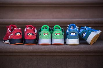"PUMA Introduces The ""Sesame Street"" Collection"
