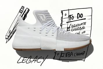 "Adidas Unveils New Dame 3 Colorway Inspired By Damian Lillard's Song ""Legacy"""