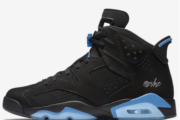 """Black/University Blue"" Air Jordan 6s To Release Later This Year"