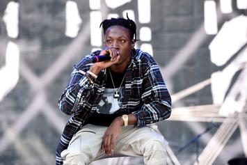 """Joey Bada$$ Drops """"Tunnel Vision"""" Freestyle On Angie Martinez Show"""