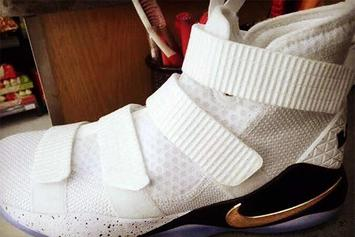 This Nike LeBron Soldier 11 Could Make Its Debut In The NBA Playoffs