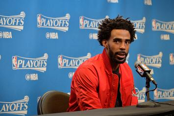 Mike Conley Says Grizzlies Players Will Pay Coach's $30,000 Fine