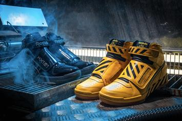 "Reebok Debuts Alien Stomper ""Final Battle"" Pack For Alien Day"