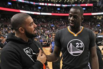 Drake & Draymond Green Roast Each Other In Friendly Instagram War