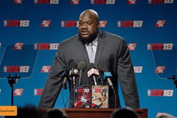 NBA 2K18 Release Date Announced, Shaq Named Legend Edition Cover Athlete
