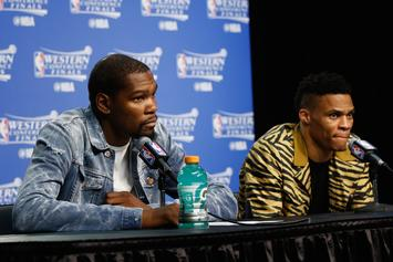 Kevin Durant & Russell Westbrook Are Reportedly Back On Talking Terms